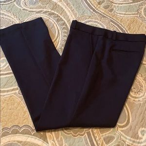 Talbots Freeport dress pant, 10, navy